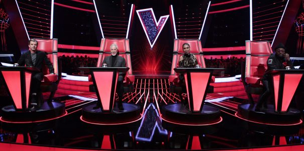 From ITV Studios  The Voice UK on ITV  Pictured: Gavin Rossdale, Tom Jones, Jennifer Hudson and will.i.am.  This photograph is (C) ITV Plc and can only be reproduced for editorial purposes directly in connection with the programme or event mentioned above. Once made available by ITV plc Picture Desk, this photograph can be reproduced once only up until the transmission [TX] date and no reproduction fee will be charged. Any subsequent usage may incur a fee. This photograph must not be manipulated [excluding basic cropping] in a manner which alters the visual appearance of the person photographed deemed detrimental or inappropriate by ITV plc Picture Desk.  This photograph must not be syndicated to any other company, publication or website, or permanently archived, without the express written permission of ITV Plc Picture Desk. Full Terms and conditions are available on the website www.itvpictures.com  For further information please contact: james.hilder@itv.com / 0207 157 3052