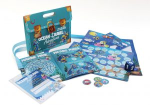 The TUI-branded Ocean Travel Adventures Treasure Chest