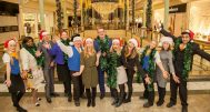 Christmas At The Trafford Centre - The Team at Intu Trafford Centre. Danielle, Doreen Hutton, Mark Gamblin, Tracy Gilchrist, Steve Thomson, Oonagh Barrington, Richard Paxton, Nikki Tansey, Sophie McKinnon, Rosy Mcloughlin, Catrin Bell, Daniel Dean.