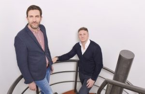 Lead Tech founders Nigel Borwell (left) and Paul Walsh