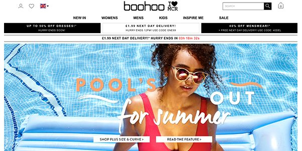 Boohoo raises revenue guidance by 80% after doubling sales