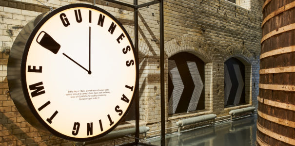 Love completes guinness storehouse redesign prolific north for Brewery floor plan software